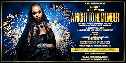 A Night To Remember Gala with Grammy Award Winner Chrisette Michele Live!