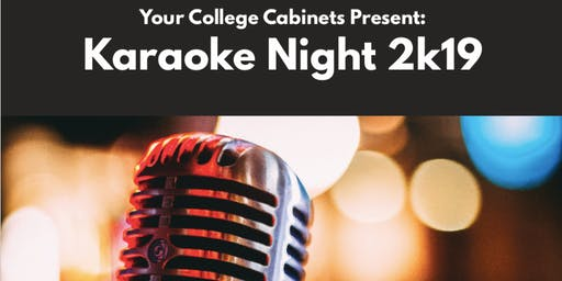 College Cabinets Off Campus Karaoke Night