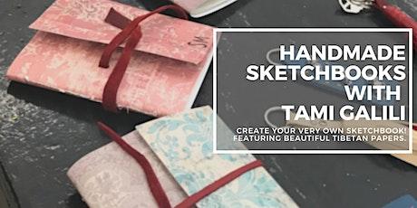 Handmade Sketchbooks with Tami Galili tickets