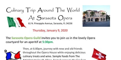 Culinary Trip Around the World at Sarasota Opera