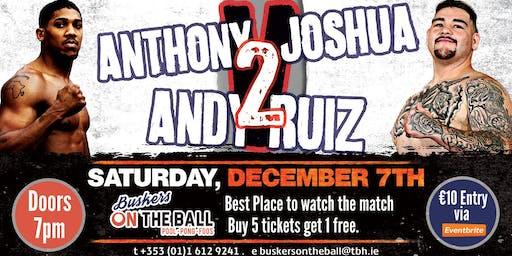 Anthony Joshua v Andy Ruiz Jr 2