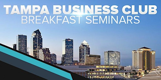 Free Networking Morning Breakfast Seminar BUT you must register!