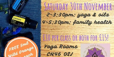 Join Jody with DoTerra Essential Oils and Family Health; Yoga Rooms,Moreton