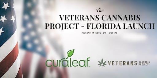 Veteran Cannabis Project Florida Launch