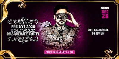 Pre-NYE 2020 Bollywood Masquerade Party in Denver