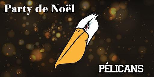 Party de Noël des Pélicans