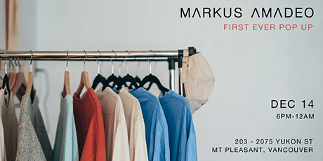 Markus Amadeo First Pop Up tickets