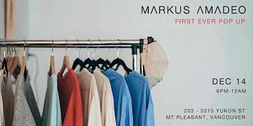 Markus Amadeo First Pop Up