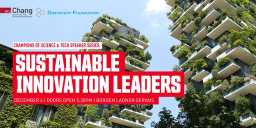 Sustainable Innovation Leaders in Canada