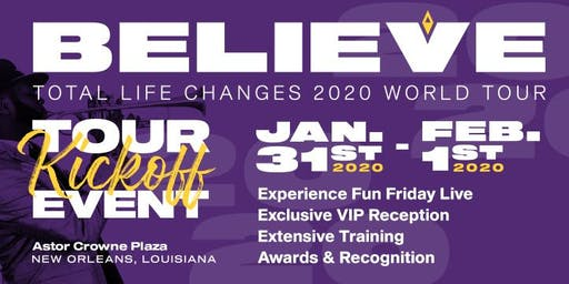 TLC's 2020 Believe Tour New Orleans