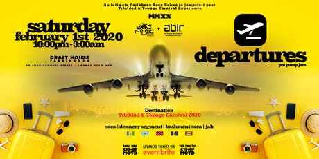 FrolicNation & ABIR presents.. Departures - Pre Pump Jam tickets