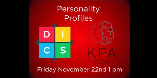 Personality Profiles: D.I.S.C. & KPA w/ Joe Marella