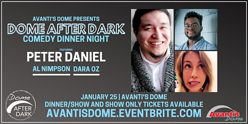 Dome After Dark Comedy Dinner