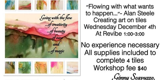 Relax & Create - Alcohol Ink Workshop
