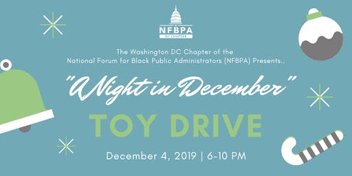NFBPA|DC Holiday Day Toy Drive Event