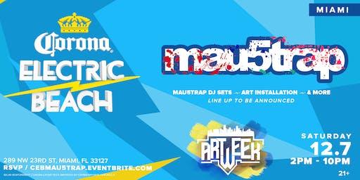 Corona Electric Beach x Mau5tap (Art Week)