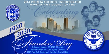 Centennial Celebration  Hosted By Houston Area Council of Zeta tickets