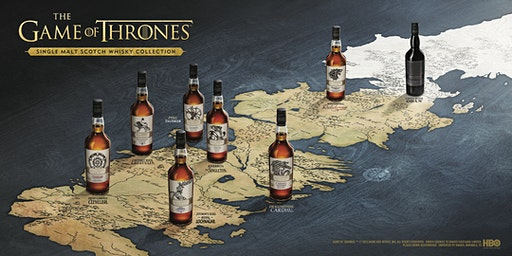 Game of Thrones Scotch Whiskies With Stuart Brown (Sage Hill)