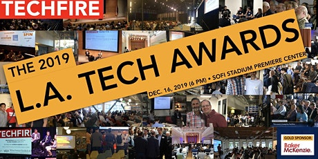 TechFire's LA Tech Awards + Holiday Party | PLUS: a Preview of SoFi Stadium tickets