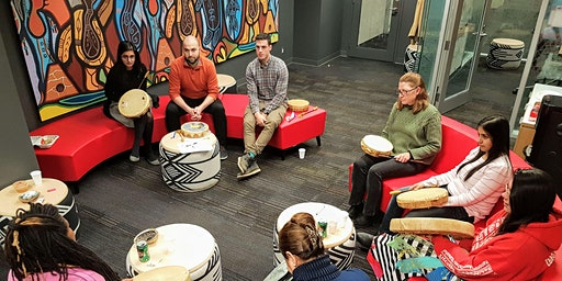 April Drum Social with Spirit Wind Women's Hand Drum Group