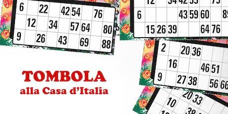 Tombola alla Casa d'Italia | Prima Edizione tickets