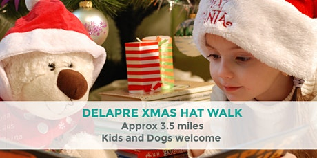 DELAPRE XMAS HAT TRAIL | APPROX 3.5 MILES | NORTHANTS WALK tickets