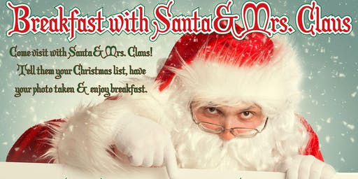 Breakfast with Santa & Mrs. Claus
