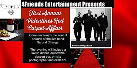 First  Annual  Valentine's  Red  Carpet  Affair tickets