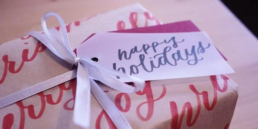 WORKSHOP: Modern Calligraphy for Beginners - Holiday Edition!