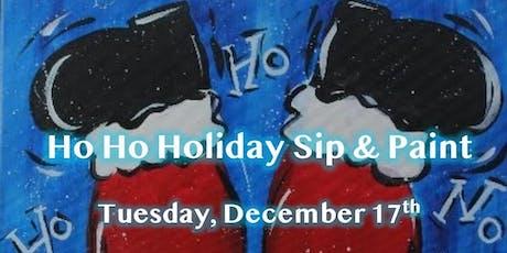 Ho Ho Holiday Sip & Paint tickets