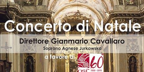 Concerto di Natale per i 60 anni di Opera San Francesco per i Poveri biglietti