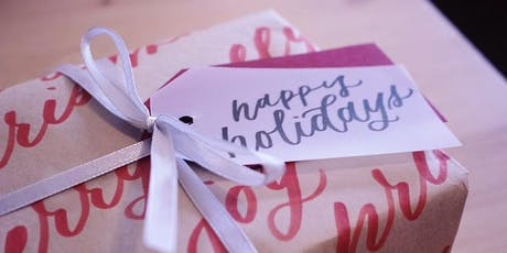 WORKSHOP: Modern Calligraphy for Beginners - Holiday Edition! tickets