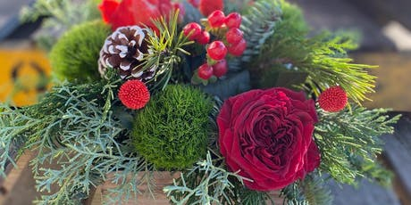 Holiday Centerpiece Workshop with Mar. Floral! tickets