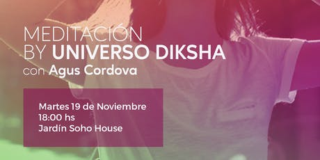 Yoga & Meditación by Universo Diksha con Agustina Cordova entradas