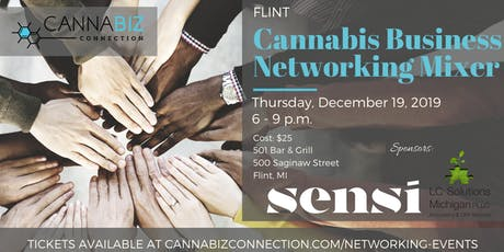 Flint Cannabiz Connection Networking Mixer tickets