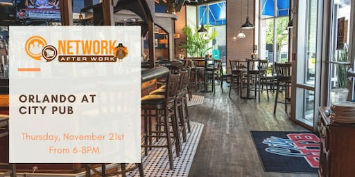 Network After Work Orlando at City PUB