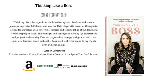 Thinking Like a Boss Book Launch Party