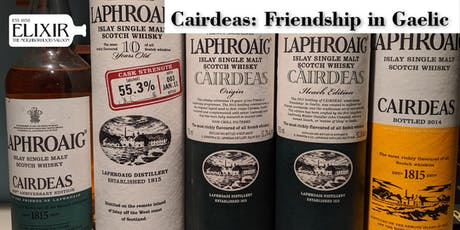 Laphroaig Cairdeas: Friendship in Gaelic - A Guided Tasting of Rare, Vintage and Current   tickets