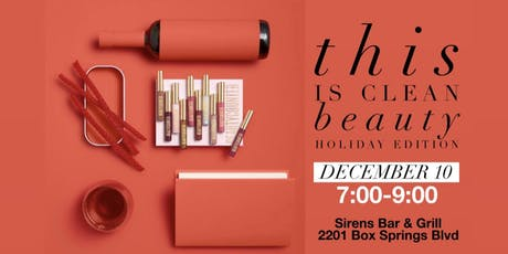 This is Clean Beauty- Holiday Edition tickets