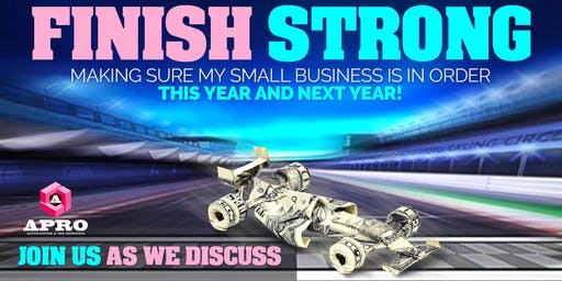 Finish Strong - Make sure your small business is in order
