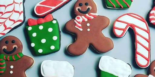Christmas Cookie Decorating Class with Three Eggs Cakery