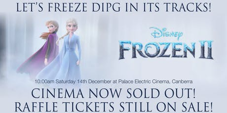 Let's Freeze DIPG in its tracks! RAFFLE TICKET SALES tickets