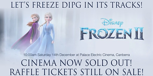 Let's Freeze DIPG in its tracks! RAFFLE TICKET SALES