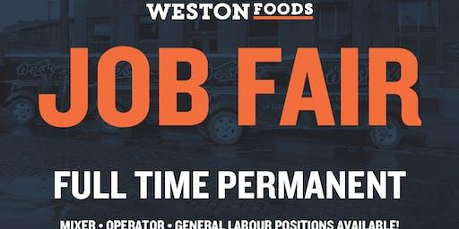 Weston Foods Job Fair - Vaughan