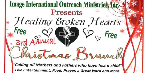 Healing Broken Hearts 3rd Christmas Brunch