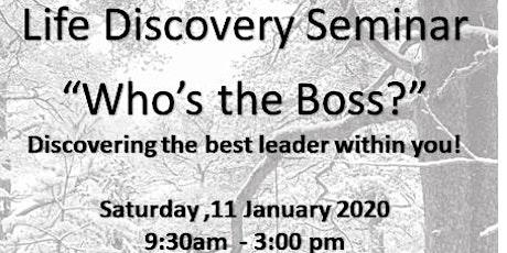 Life Discovery Seminar tickets
