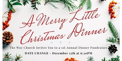 Merry Little Christmas Dinner Fundraiser