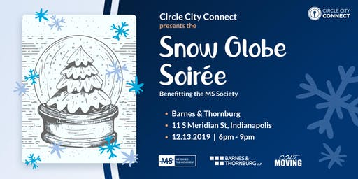 Circle City Connect Snow Globe Soirée benefiting the MS Society.