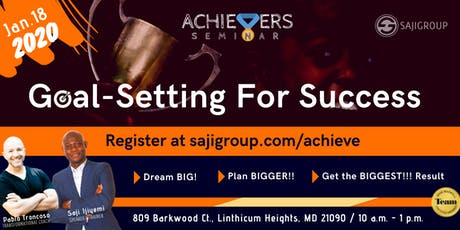 Goal-Setting Up Yourself for Success tickets