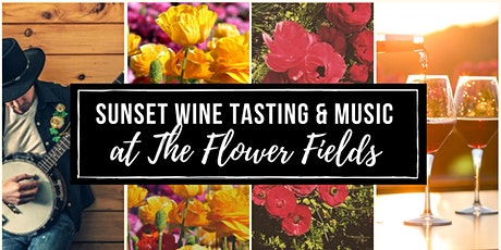 Sunset Wine Tasting and Music tickets